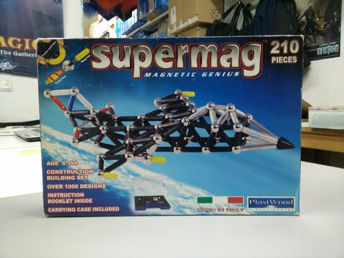 SUPERMAG (GEOMAG) PUZZLE MAGNÉTICO