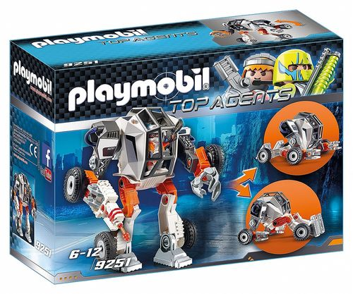 Playmobil 9251 - Agente General con Robot