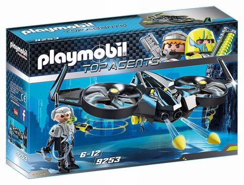 Playmobil 9253 - Top Agents - Mega Drone