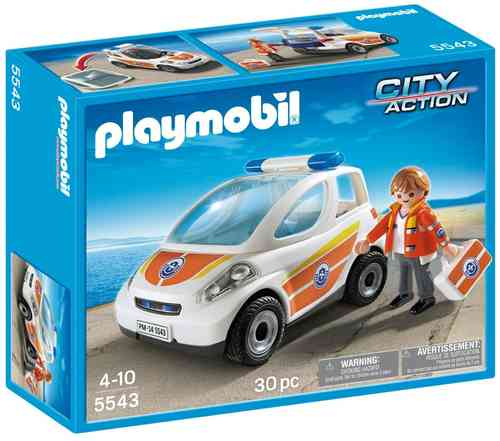 Playmobil 5543 - City Action - Vehículo de Emergencia