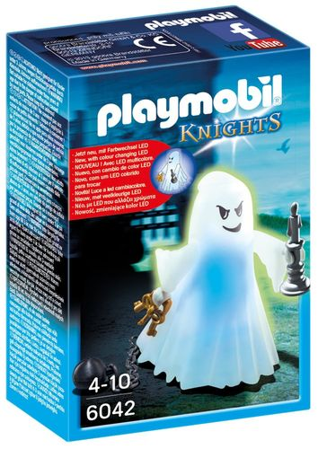 Playmobil 6042 - Fantasma del castillo con luz multicolor