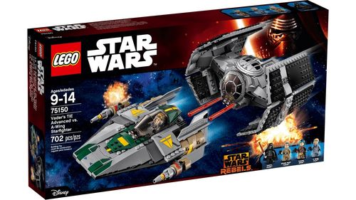 Lego 75150 - TIE Advanced de Vader vs. A-Wing Starfighter