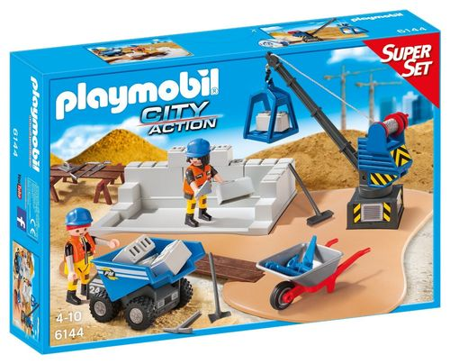 Playmobil 6144 - Superset Construcción