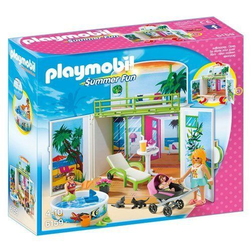 Playmobil 6159 - Cofre Bungalow en la Playa