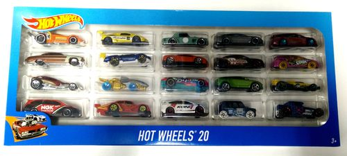 Hot Wheels - Pack 20 Vehículos H7045