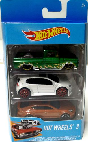 Hot Wheels - Pack 3 Vehículos K5904
