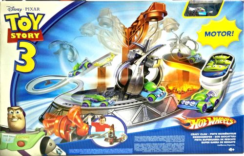 Hot Wheels - Pista Supergarra de Rescate Toy Story 3 R2524