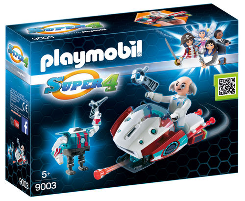 Playmobil 9003 - Skyjet con Dr. X y Robot