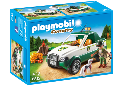 Playmobil 6812 - Guardabosque con Pick up