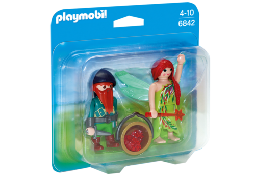 Playmobil 6842 - Duo Pack Hada y Elfo