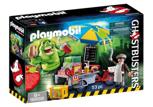 Playmobil 9222 - Slimer con Stand Hot Dog