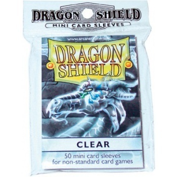 50 Fundas Dragon Shield Mini - Transparentes