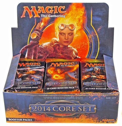 Magic - Caja Sellada - MAGIC 2014 - ENGLISH