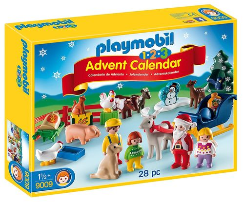 Playmobil 9009 - Calendario de adviento, granja de animales