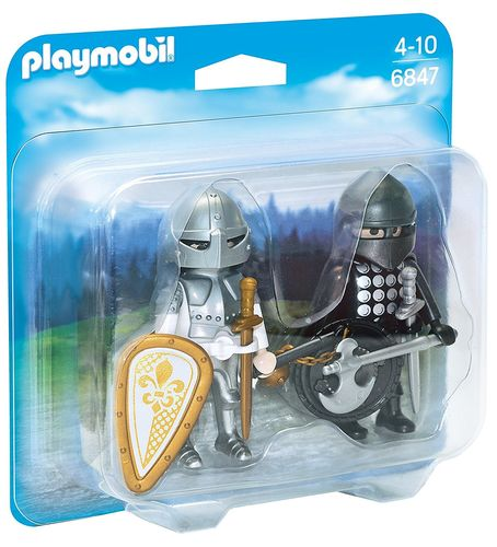 Playmobil 6847 - Duo Pack Caballeros