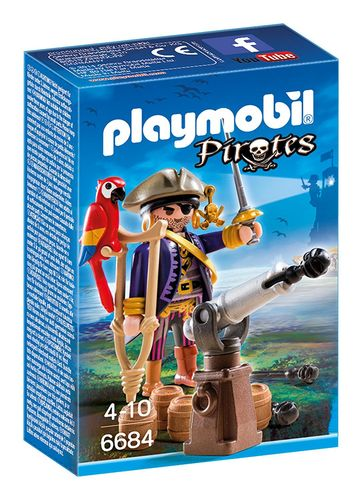Playmobil 6684 - Capitan Pirata