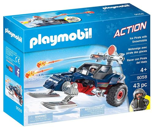 Playmobil 9058 Action - Racer con Pirata del Hielo
