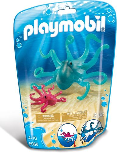 Playmobil 9066 - Wildlife - Pulpo con Bebé