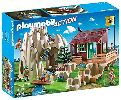 Playmobil 9126 Action - Escaladores con Refugio
