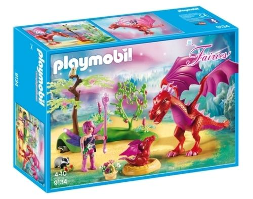 Playmobil 9134 - Fairies - Dragón con Bebé