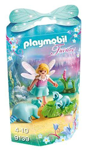 Playmobil 9139 - Fairies - Niña con Mapaches