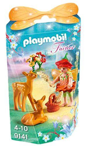 Playmobil 9141 - Fairies - Niña con Ciervos