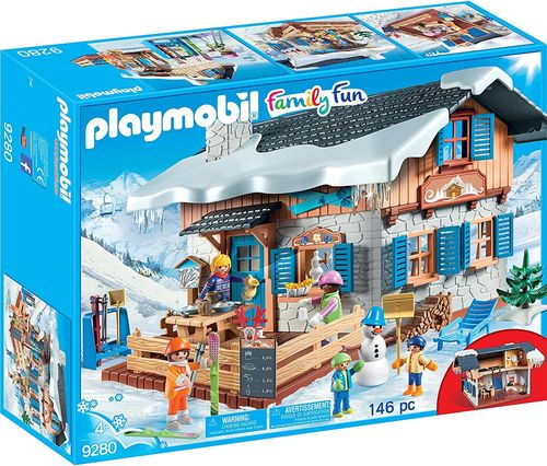 Playmobil 9280 - Family Fun - Cabaña de Esquí