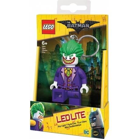 Batman Movie- Linterna Eléctrica con llavero Joker