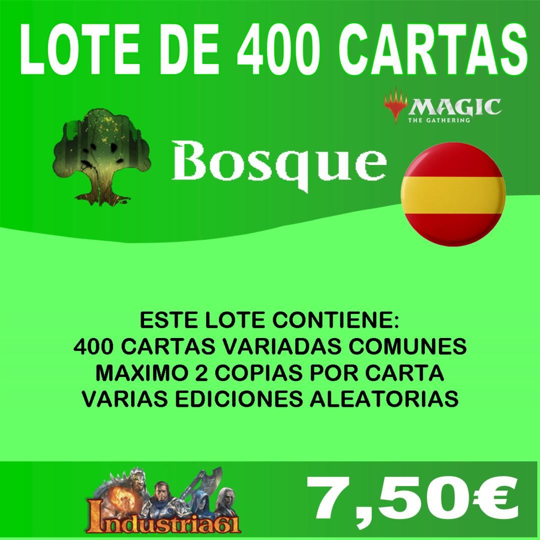 NUEVO VARIOS COLORES en CASTELLANO 400 CARTAS COMUNES DE MAGIC