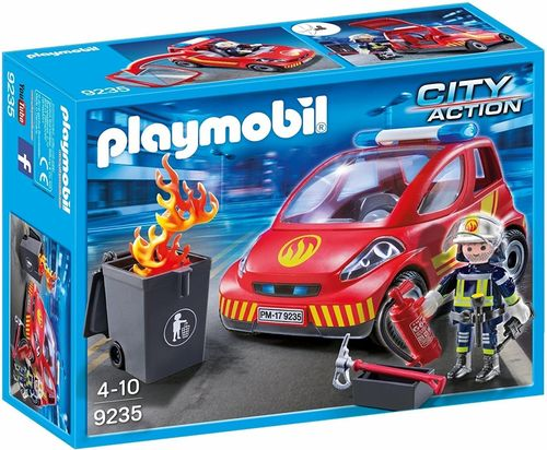 Playmobil 9235 - City Action - Coche de Bomberos