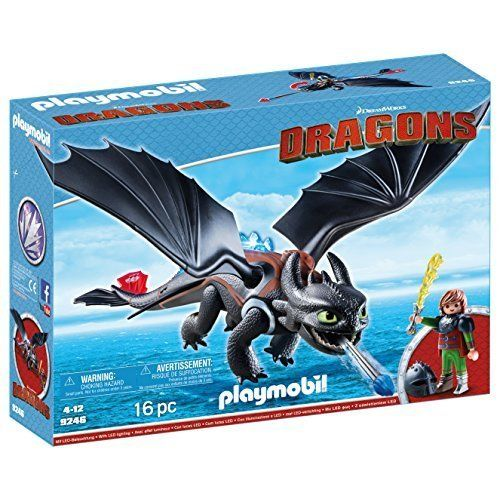 Playmobil 9246 - Dragons - Hipo y Desdentao