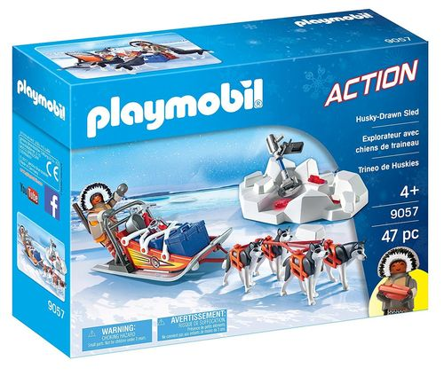 Playmobil 9057 Action - Trineo de Huskys