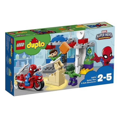 Lego 10876 - Spider-Man And Hulk Adventures