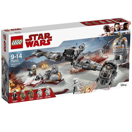 Lego 75202 - Star Wars - Defensa de Crait