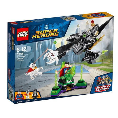Lego 76096 - Superman y Krypto