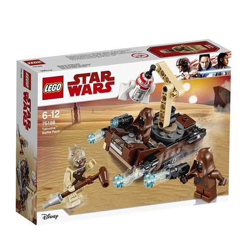 Lego 75198 Star Wars - Pack de combate de Tatooine