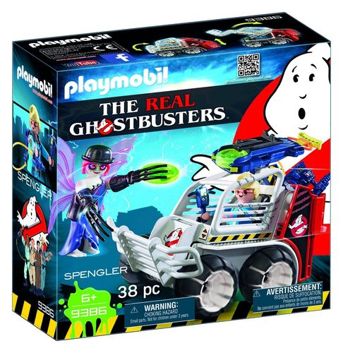 Playmobil 9386 - Ghostbusters: Spengler con Coche