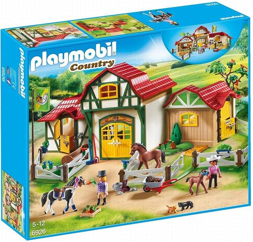 Playmobil 6926 - Country - Granja de Caballos