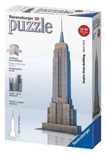 Ravensburger 3D Puzzle 216: Empire State Building