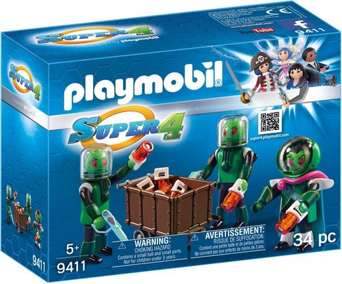 Playmobil 9411 - Super 4: Sykronianos