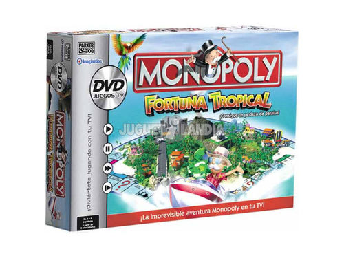 Hasbro - Monopoly: Fortuna Tropical