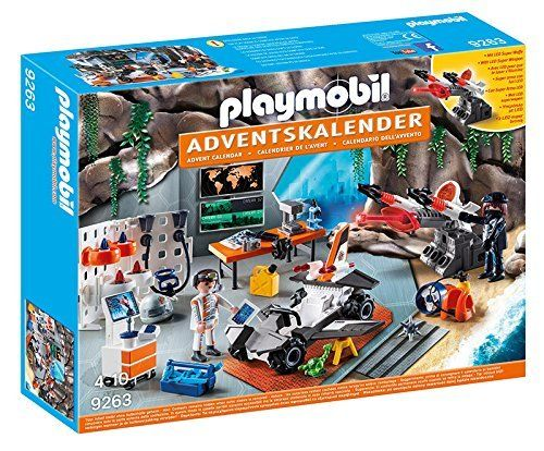 Playmobil 9263 - Calendario de Adviento - Agentes