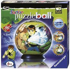Ravensburger - Puzzleball Junior: Ben 10 Alien Force 96 Piezas