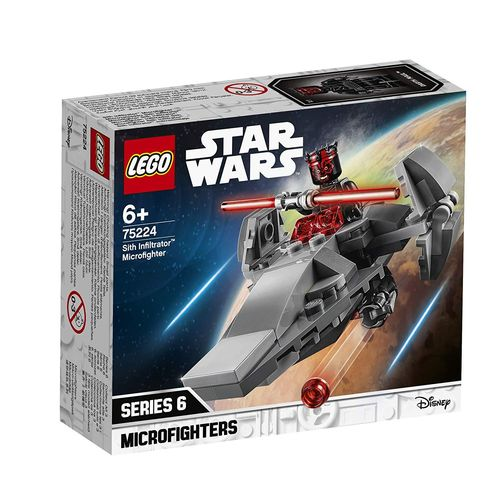 Lego Star Wars 75224 - Microfighter: Infiltrador Sith