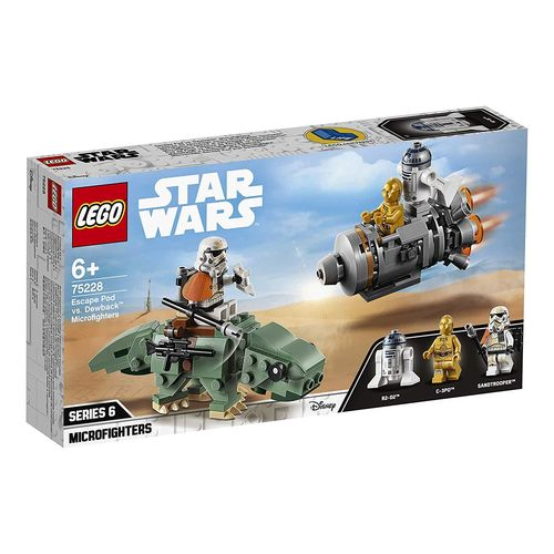Lego 75228 - Microfighters: Cápsula de Escape vs. Dewback
