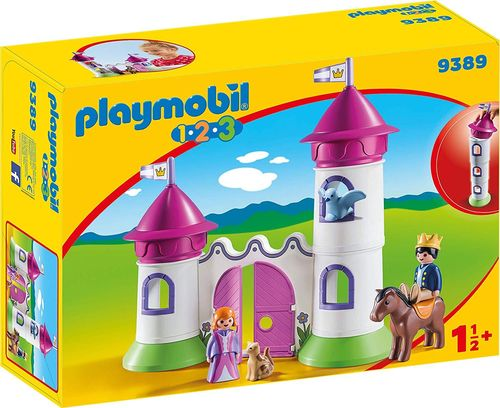 Playmobil 9389 - Castillo con Torre apilable