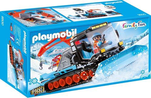 Playmobil 9500 - Family Fun - Quitanieves