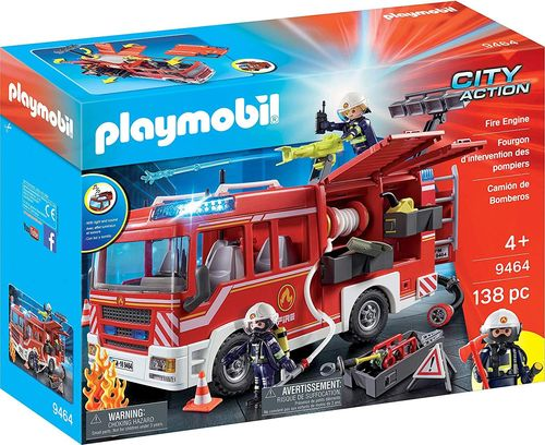 Playmobil 9464 - City Action - Camión de Bomberos