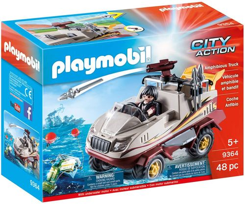 Playmobil 9364 - City Action - Coche Anfibio