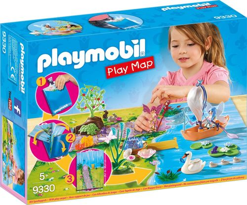 Playmobil 9330 - Play Map - Hadas de Jardín